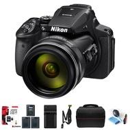 Nikon 尼康 COOLPIX系列 P900 公司貨 128G+電池(共3顆)+座充+快槍俠減壓背帶+相機包等