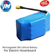 [Shop Malaysia] Rechargeable 36v Lithium Battery for Electric Hoverboard