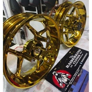 ASIO MAGS FOR NMAX 155 CHROME GOLD