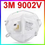 {CF舖}3M 9002V P1折疊式防塵口罩/有呼氣閥 25個/盒(PM2.5 N95口罩 霾害 霧霾 粉塵 灰塵 9010 9042 9913V 9010V)