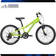 【新瑞興單車二館】FUJI 富士 DYNAMITE 20 綠 20吋 6速 童車 分期零利率 100%組裝#FJ1101