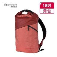 【eminent 萬國通路】18吋 英倫風反折後背包 K9457W(紅色)