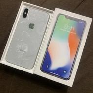 實體店 iPhone X 64g 銀色 全螢幕 5.8吋二手 台中 中古