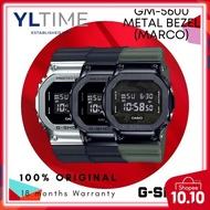 Casio G-Shock Metal Bezel GM-5600-1/GM-5600B-1/GM-5600B-3 [MARCO Warranty] 100% Genuine with Money Back Guarantee