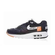 Nike Air Max 1 Women's Breathable Running Shoes men's skate shoes. Just Do It Sneakers Sport Outdoor