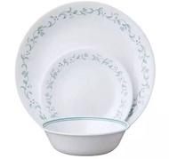 Corelle 18 Pcs Livingware Dinner Set/Set Pinggan Mangkuk Kaca Corelle
