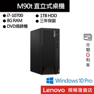 Lenovo 聯想 ThinkCentre M90t 11CYS00G00 i7/8G/1TB/DVD-RW 桌上電腦