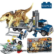 Legoing Jurassic World Park Figures Blocks Indominus Rex Dinosaur Compatible Legoings 75933 Jurassic