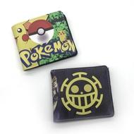 動漫精靈球錢包學生短款神奇寶貝皮卡丘錢包海賊王羅卡包零錢包