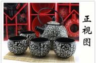 《愛鴨咖啡》zakka雜貨 日式和風茶具 百家姓圖 功夫茶具 大容量茶壺 日式茶道 日本風 百家姓圖
