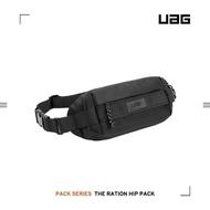 【UAG】潮流斜背包-黑(側背包、單肩包、腰包、隨行包)
