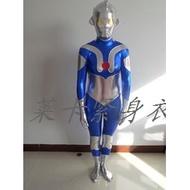 萬圣節cosplay服裝初代奧特曼cos表演服兒童成人初代奧特曼連體衣