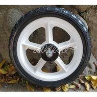 12吋 發泡輪♡曼尼2♡ 發泡輪 小朋友 滑步車 實心輪 車輪 輪胎 輪子 白輪