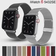 สำหรับApple Watch SE 42มม.38มม.IWatch Series 6 5 3สร้อยข้อมือสแตนเลสสตีลMilanese Loopสำหรับapplewatch Band 40มม.44มม.
