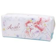 日貨 小美人魚 化妝包 盥洗包 刷具盒 筆盒 迪士尼 DISNEY Ariel 美人魚 正版 J00015110