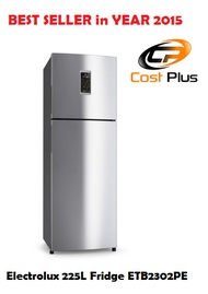 Electrolux 225L 2 door Fridge ETB2302PE