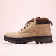 CAT Quark High Gang 推土機 秋冬款卡特男士中幫馬丁靴 卡特戶外休閑工裝鞋 男鞋 低幫鞋 耐磨 防滑