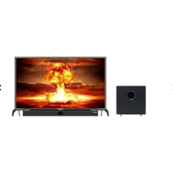 Promo Televisi LED Polytron PLD43B150 cinemax soundbar 43 inch