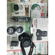 【Rainbow🌈小屋】二手canon 650d 附雙鏡頭