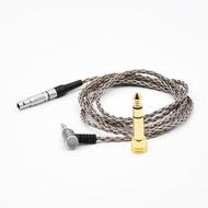 Earmax AKG K812 耳機線K872 升級線單晶銅鍍銀耳機線升級線