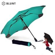 【紐西蘭BLUNT 保蘭特】抗強風防反傘抗UV時尚雨傘(折傘 XS_Metro蒂芬妮綠)
