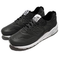 Double AK 65折 New Balance 580 MRT580DX 男鞋 黑白 慢跑鞋 反光 皮革 無縫線