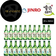 Jinro + Goodday Original Sojus, 20x360ml