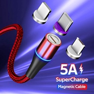 5AประเภทCชาร์จเร็วสายไฟแสดงสถานะสำหรับSamsung OPPO VIVO Huawei XIaomi /// 3A Micro USBสำหรับAndroid /// 3A LightningสำหรับiPhone