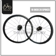 Ready Stock 12inch/ 16inch Stainless Rim Bicycle Spare Part