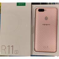 二手/中古 OPPO R11S 64G 玫瑰金 9.5近全新品 $5500