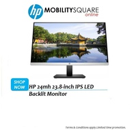 """[Shop Malaysia] HP 24mh Monitor with HDMI Cable (23.8"""")"""