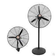 夯貨折扣! 工業風扇電風扇家用長線厚網商用壁風扇電全銅大功率超強風牛角扇