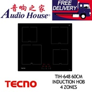 TECNO TIH-648 60CM INDUCTION HOB 4 ZONES