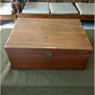 復古  大型黃檜木箱!