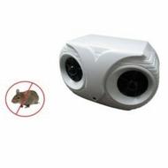 日本同步熱賣🇯🇵貓頭鷹造型雙喇叭超音波驅鼠器. 驅鼠效果保證100%