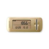 ○ 1台歐姆龍活動量計熱量掃描黄金HJA-306-GD q-bazar