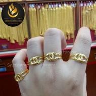 แหวนทองแท้ แหวนทองครึ่งสลึง 96.5%