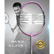 Badminton racket bagFELET Nano Scale I Pink 3U Badminton Racket - 100% Original by FLEET