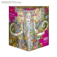 ✷✿☸❁❈GERMANY import Jigsaw Puzzles HEYE 1000PCS Adult puzzle Elephant life111