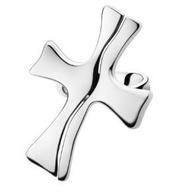 喬治傑生(GEORG JENSEN)-CROSS 戒指-925S 銀#55