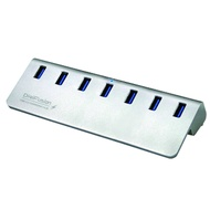 伽利略 【U3H07B】USB3.0 7埠 7孔 7Port HUB集線器 USB擴充銀