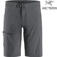 Arcteryx 始祖鳥 休閒短褲/登山短褲 快乾排汗 Lefroy 男款 26847 晶片灰