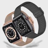 ตาข่าย Correa สำหรับ Apple Watch SE 44มม.40มม.Iwatch Series 6 5 4 3 42มม.38มม.Milanese Loop สแตนเลสสายนาฬิกาสำหรับ Applewatch