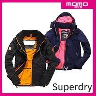 【Superdry】獨家限定男女風衣連帽夾克/防潑水/衝鋒風衣外套(多款可選)