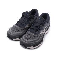 MIZUNO WAVE SKY 4 超寬楦4E慢跑鞋 炭黑 J1GC201140 男鞋
