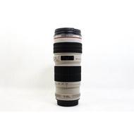 【台中青蘋果】CANON EF 70-200MM F4 L USM UE鏡 望遠 二手鏡頭 #21498