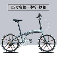 foldable bicycle ✰HITO 22/20 inch folding bicycle light aluminum alloy male and female adult bicycle bicycle road bike♀