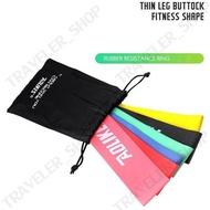 เกรดพรีเมี่ยม ยางยืดวงแหวน ยางยืดออกกำลังกาย AOLIKES Set 6 Pcs ฟรี!! ถุงผ้า สีสันสดใส แต่ละสีแรงต้านต่างกันKaykai Shopza209 ยางยืดออกกำลังกาย ยางยืดกลม ยางยืดแรงต้าน ยางยืดออกกำลัง ยางยืดออกกำลังกาย แท้