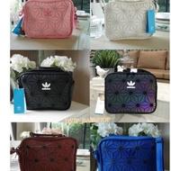 [ Ready Stock ] Adidas 3D Mesh Issey Miyake Style Sling Bag Bags
