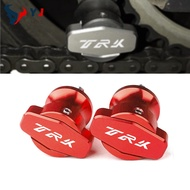 6M With Logo TRK For Benelli TRK 502 502X 251 TRK502 TRK502X TRK251 Motorcycle Accessories Swingarm Spools Stand Slider